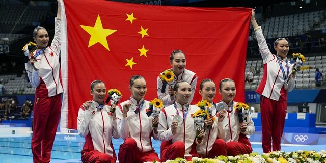 花游集體自由自選中國連續三屆銀牌