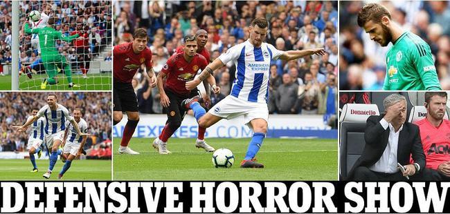 《邮报》将比赛描述为糟糕防守的一场秀