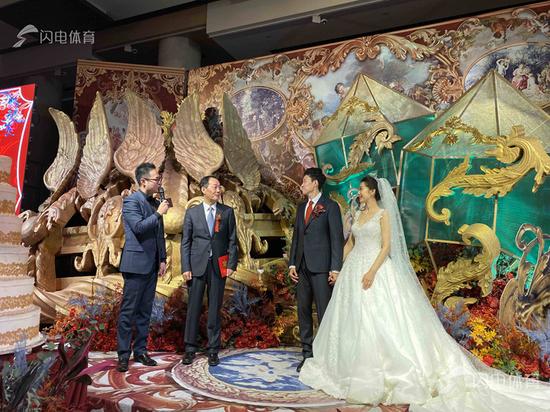 鲁能队员宋龙今日举行婚礼 李霄鹏及鲁能众将出席