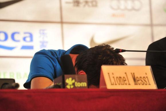 梅西曾因这一瞬间被批不尊重中国球迷