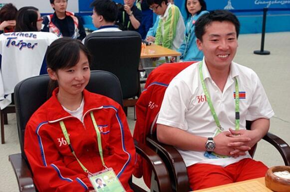 ▲ 朝鲜的围棋人才,赵新星和朴虎吉