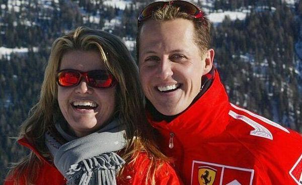 舒马赫与妻子