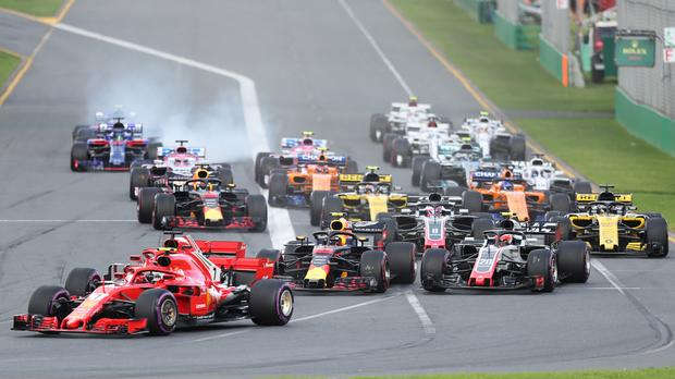 F1澳大利亚站发车