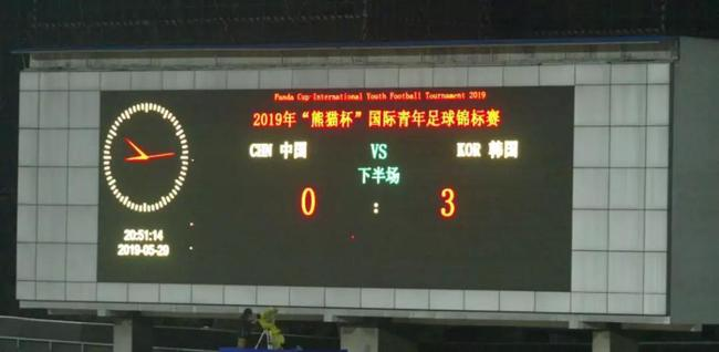 熊猫杯惨败