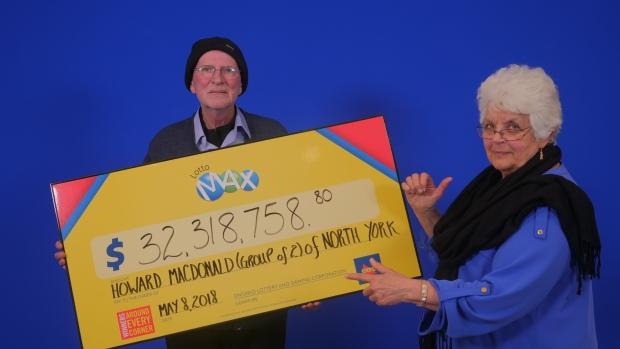 夫妇中1.5亿巨奖拿彩票手发抖 用2个月冷静
