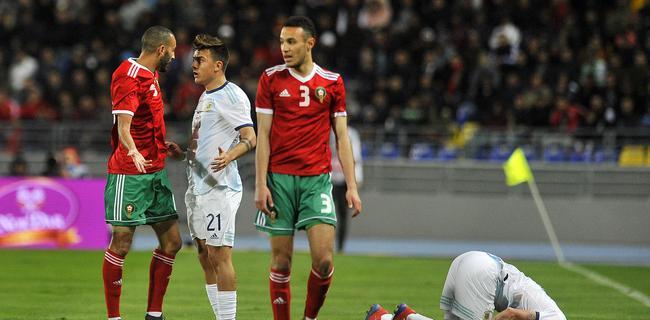 阿根廷把友谊赛踢成了友尽赛