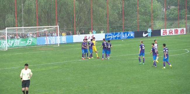 足协杯-乔纳森扳平U23破门 泰达点球8-7淘汰卓尔
