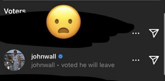 是否会离开火箭?沃尔社交媒体投票选择离开