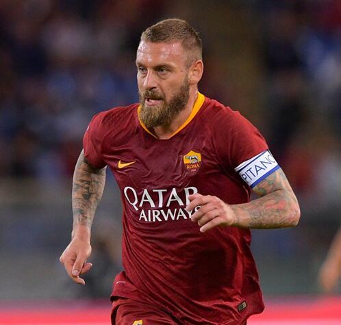 羅馬官方宣佈德羅西賽季末離隊