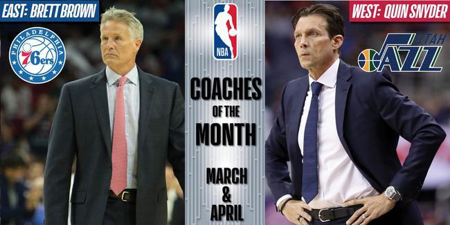 在两个月内表现出色的教练得到16