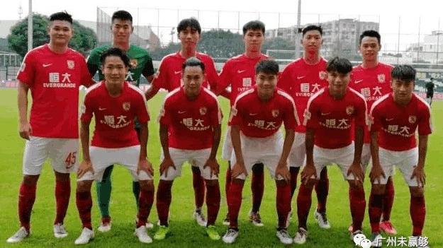 青超恒大U19队21场不败轰107球 高效数据胜过一队