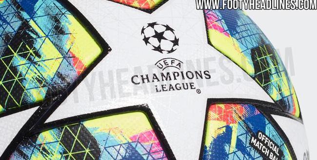 下賽季歐冠比賽用球諜照曝光