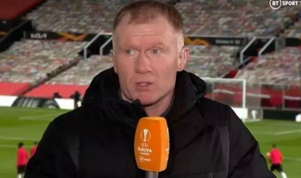 斯科尔斯:曼联不该满足平局 下回合太难踢了