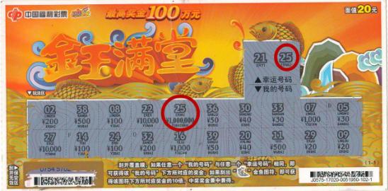 小鲜肉首次买彩便擒福彩100万:最好的成人礼物