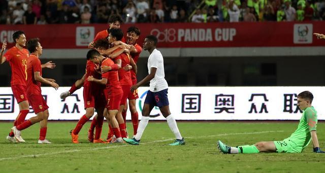 熊猫杯-U19国足1-0英格兰夺冠
