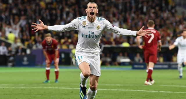 欧冠-贝尔2球 皇马3-1利物浦力夺3连冠