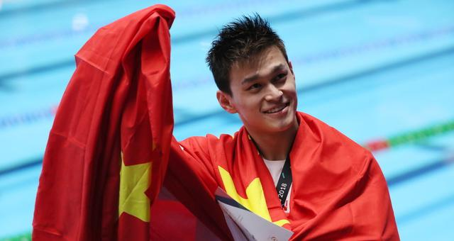 个人第三金!孙杨男子400米自由泳夺冠