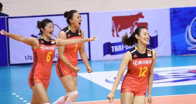 牛!亚洲杯中国女排第五度登顶