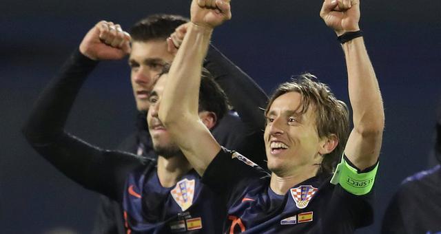 欧国联-克罗地亚92分钟绝杀西班牙