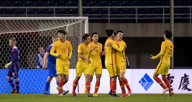 国奥1-1冰岛 尹聪耀头槌郭全博乌龙