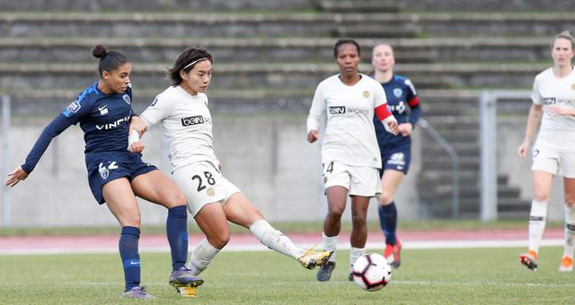 法甲女足-大巴黎3-1客胜 王霜造3球