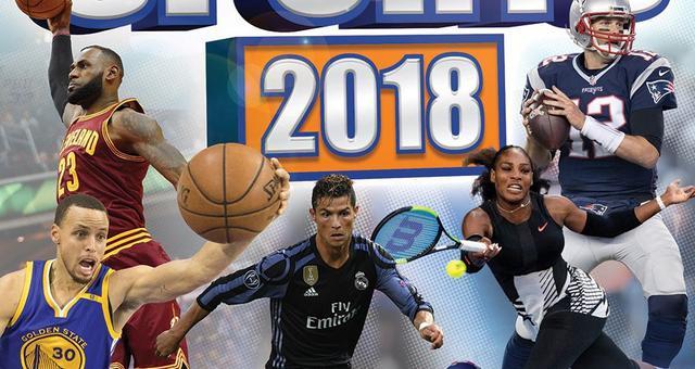 2018年运动员统治力排行榜