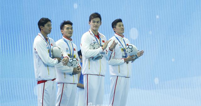 破亚洲纪录!孙杨4x200自接力助中国摘铜