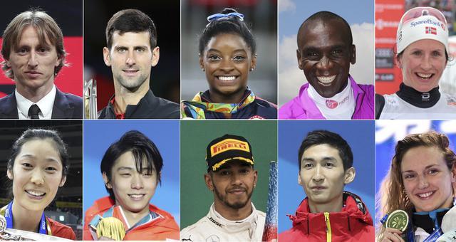 新华社评出2018年国际十佳运动员