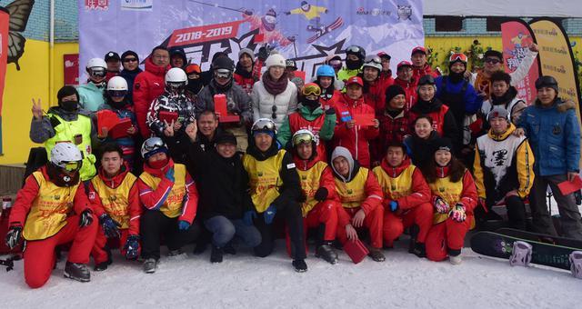 新浪杯高山滑雪赛山西采薇站集锦