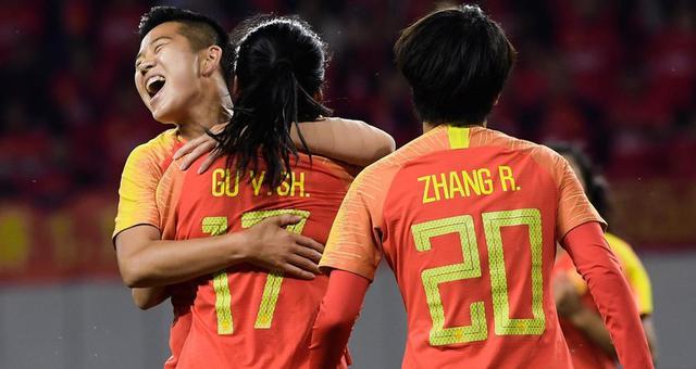四国女足邀请赛决赛-中国1-0韩国夺冠