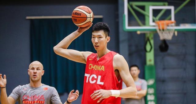中国男篮公开训练