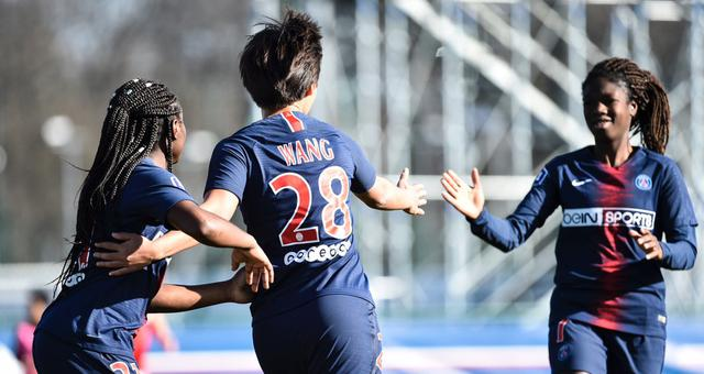 法女甲-王霜传射建功 巴黎女足4-0胜