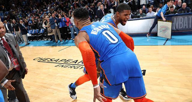 NBA-龟椒同轰40+ 雷霆双加时绝杀爵士