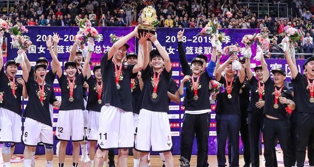 WCBA总决赛G5:广东3-2八一夺总冠军