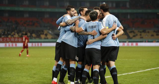 中国杯决赛-乌拉圭4-0成功卫冕