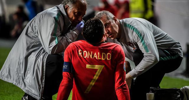 欧预赛-C罗伤退 葡萄牙1-1塞尔维亚