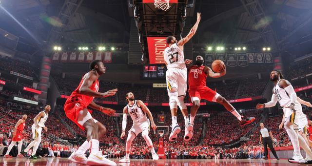 NBA-火箭险胜爵士杀进西部半决赛