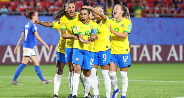 女足世界杯-玛塔创纪录 巴西1-0意大利