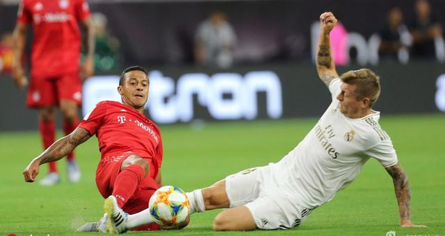 热身赛拜仁3-1皇家马德里