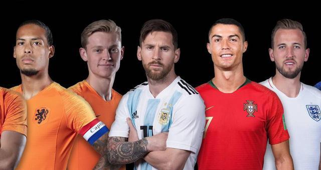 世界足球先生候选:范戴克、梅西领衔