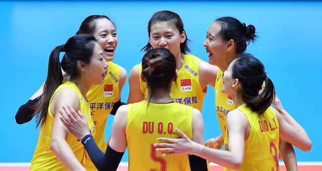 亚锦赛中国女排3-0印尼进八强