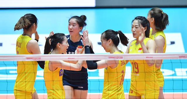 亚锦赛铜牌战中国女排0-3韩国