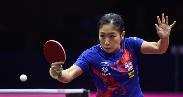 世界杯刘诗雯4-0郑怡静进4强