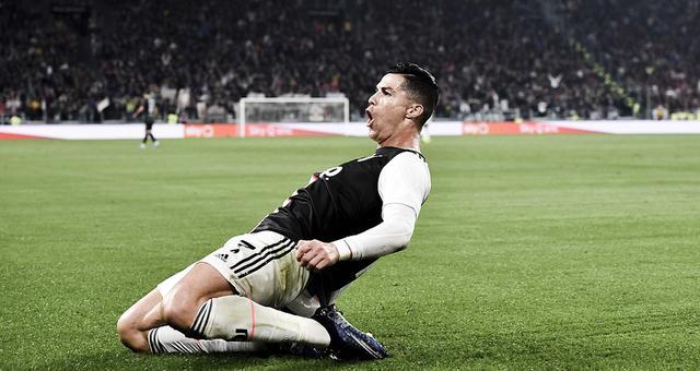 西甲-C罗首开纪录 尤文2-1险胜