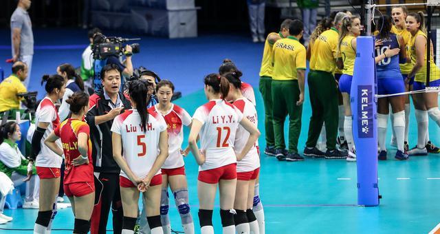军运会中国1-3巴西 连续三届摘银