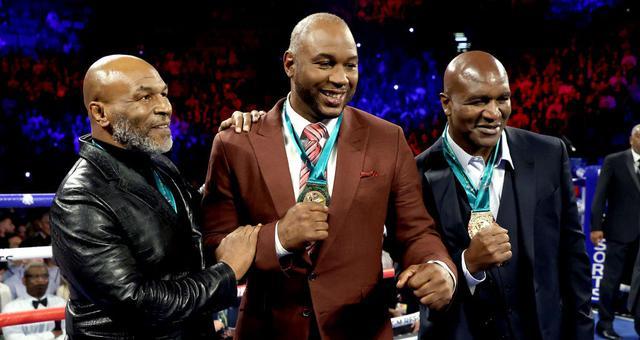 拳王争霸赛泰森引领三大老拳王现身 还记得他们吗
