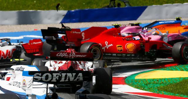 F1施蒂利亚站小汉夺冠 法拉利自残双退