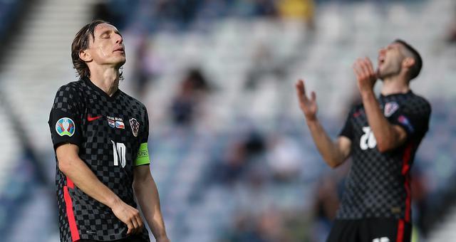 [欧洲杯]克罗地亚1-1捷克 两战不胜迎出线危机