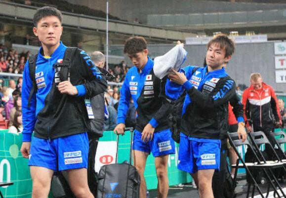 日本男队最终3-1胜出