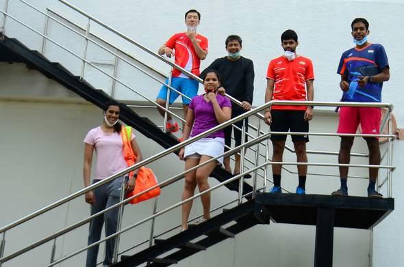 居家防疫四个多月 辛杜等印度国手重返球场训练